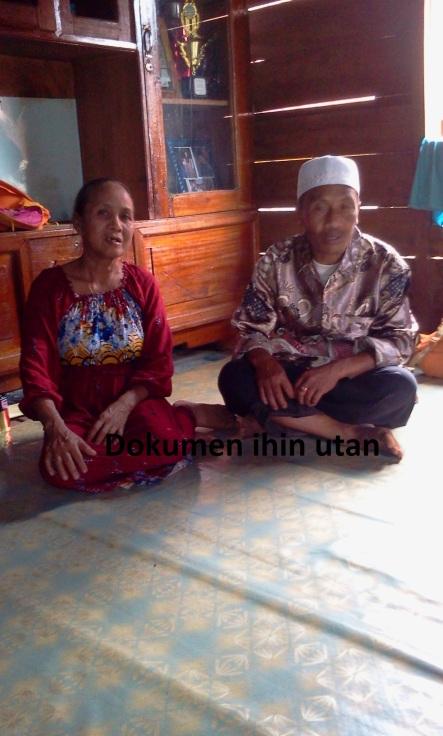 H.Syamsuddin dan Saudara perempuannya merupakan cucu dari saudara kandung Baham Sebab Baham sendiri tidak punya keturunan....